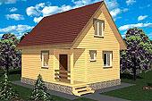 Жилые дома 6x6 в Москве: проекты для строительства с